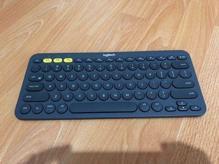 Logitech K380 Bluetooth Wireless Keyboard - Black