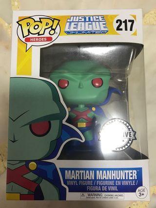 Martian manhunter funko pop