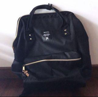 authentic black anello bag