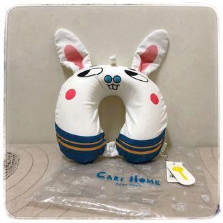 🚚 【兔子款】全新 靠枕 護頸枕 健康枕 原創設計U型枕 卡通 高密度記憶乳膠枕
