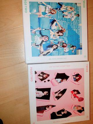 Twice Album 專輯 page two