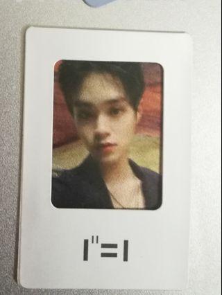 Wanna One Power of Destiny Photocard