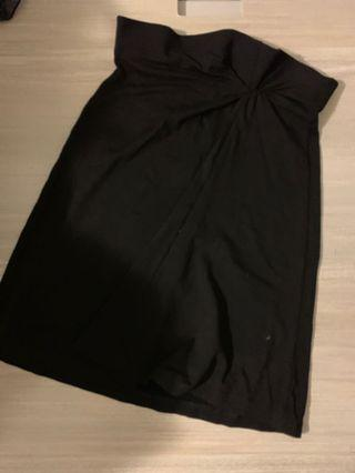 Black Morgan Midi Dress