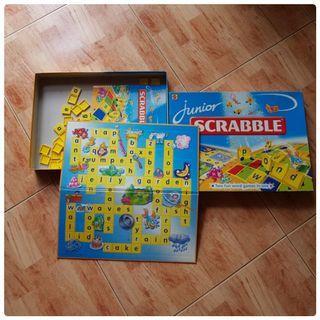 Pre loved Junior Scrabble (Incomplete pls read)