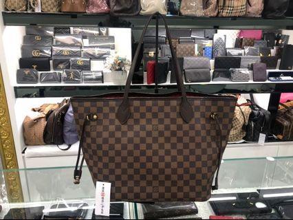 ㊣東區正精品㊣ LV N51105 Neverfull MM 中款購物袋肩背包 RZ0785