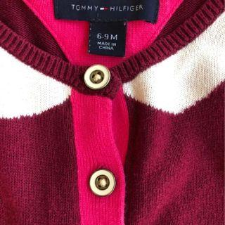 Tommy Hilfiger girl sweater 6-9M