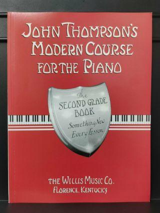 JOHN THOMPSON'S MODERN PIANO COURSE GRADE 2 英文版