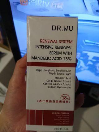 Dr.Wu 杏仁酸亮白煥膚精華30ml大支裝