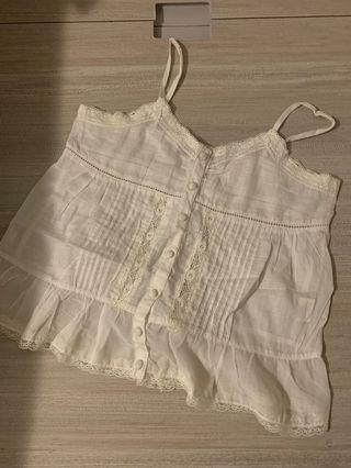 Marc Jacobs White Summer Top