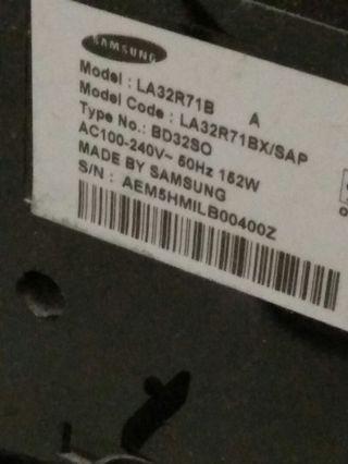 "🚚 Samsung 32"" TV"