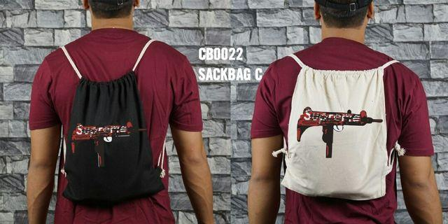 Sack bag with all design