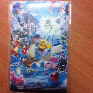 Pokemon And Friends Ezlink Card