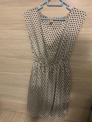 Monkey pattern Korea Dress