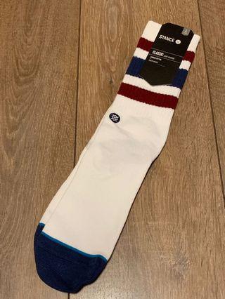 STANCE MEN'S SOCKS(Stance白色籃球襪)