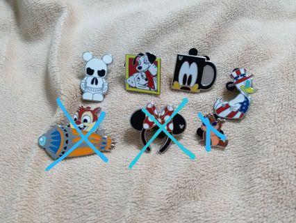 迪士尼徽章  襟章 disney pin