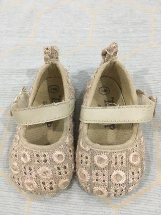 Baby Girl Nude Doll Shoes