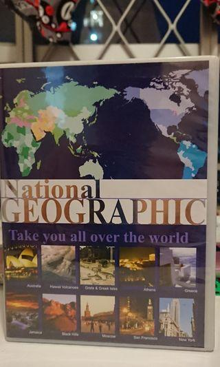 National Geographic VCD Take you all over the world