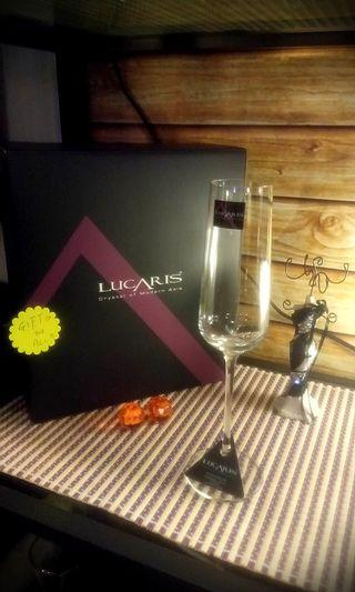 "Crystal of Modern Art ! "" LUCARIS "" from Thailand !🍷"