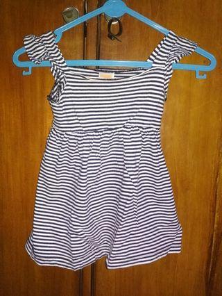 Mini dress anak usia 1thn