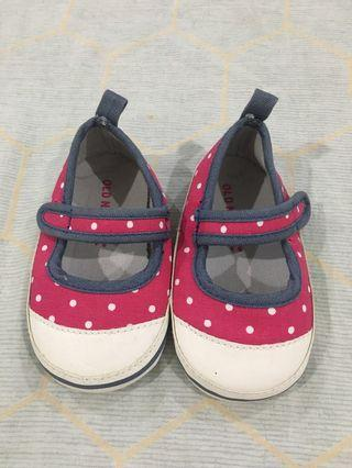 Old Navy Red Polka Dot Doll Shoes