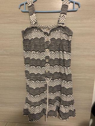 B+and summer dress