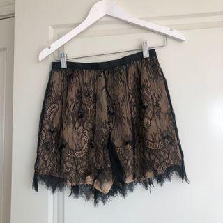 Keepsake lace shorts