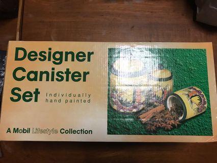 Designer Canister set #endgameyour excess