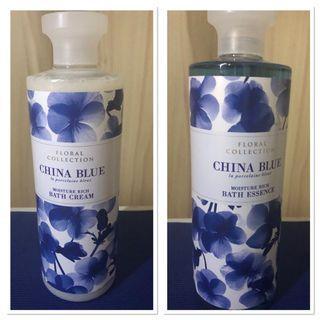 Marks & Spencer China Blue (Take all free ongkir Jabodetabek)