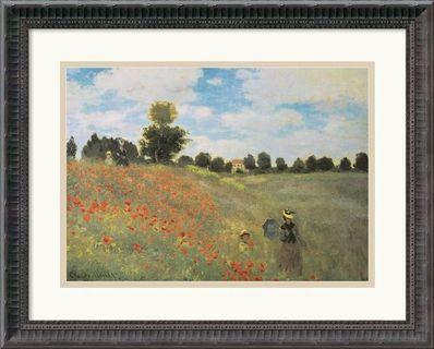 Ready to hang wall art Claude Monet Poppy Field 1873
