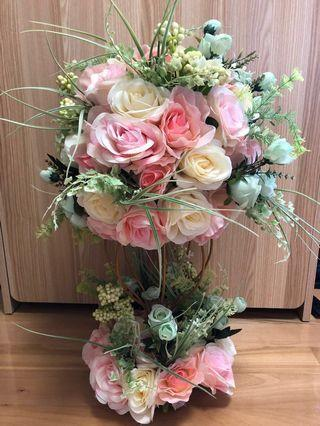 結婚物資 - 婚禮接待處絲花裝飾擺設