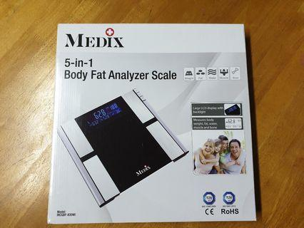 🚚 BRAND NEW MEDIX 5 IN 1 BODY FAT ANALYSER SCALE
