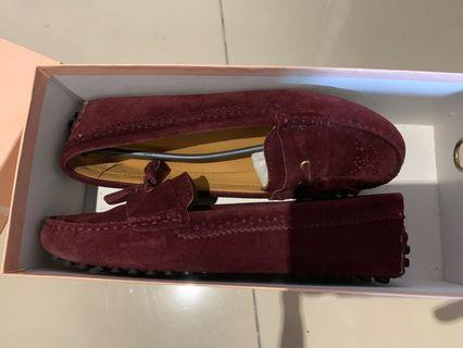 Loafers maroon