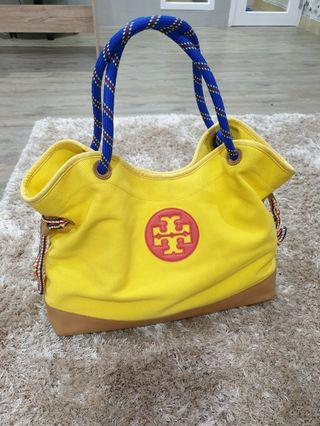 REPRICE !!! Tory burch canvas tote
