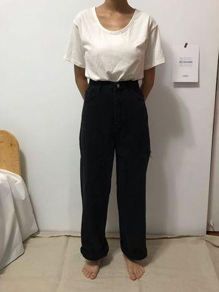 🚚 9amez黑色牛仔褲