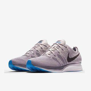 🚚 Nike Flyknit Trainer 灰 藍 US12 台灣公司貨