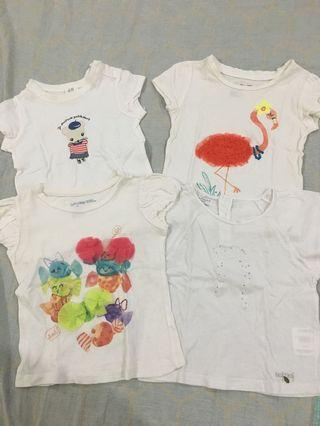 Assorted Toddler Shirts