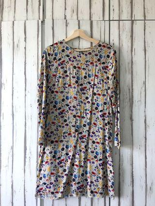 H&M Floral Artsy Dress/Top