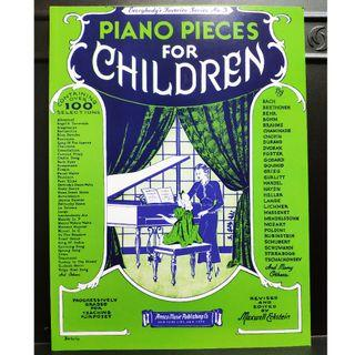 Piano Pieces for Children (Everybody's Favorite Series, No. 3) CHILDREN PIECES 英文版