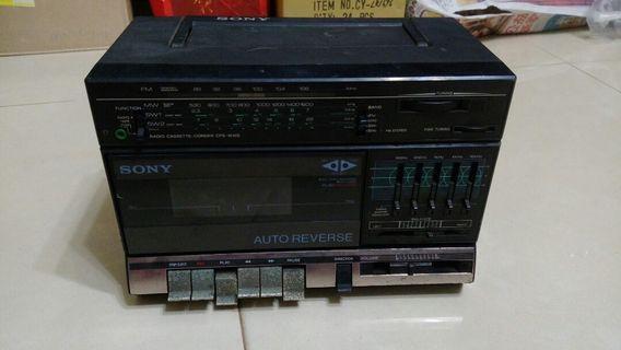 Sony cfs1010s手提組合音響主機(零件機)
