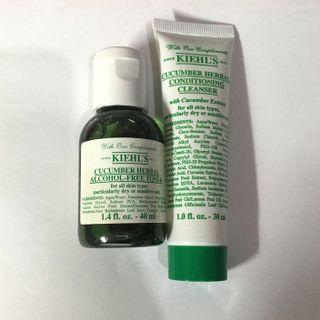 Kiehl's Cucumber Herbal Set
