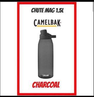 💦2019💦 NEW DESIGN CamelBak CHUTE MAG ® 1.5L Water Bottle  <CHARCOAL>