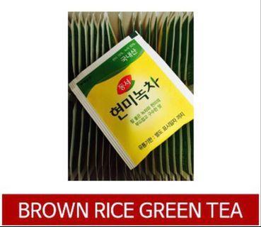 Brown Rice Green Tea $0.15 per tea bag