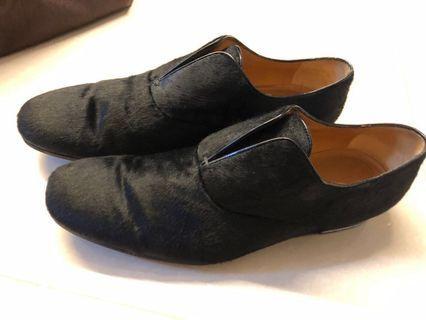 Gucci 馬毛 fur 皮鞋 leather shoes loafer