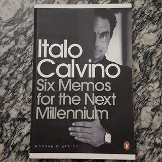 NEW Six Memos For The Next Millennium by Italo Calvino