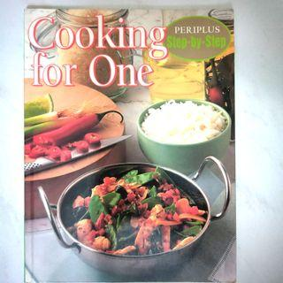 🚚 Periplus Cooking for One Step-by-Step Cook Book