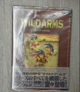 Wild Arms 狂野歷險 荒野兵器 日文資料集