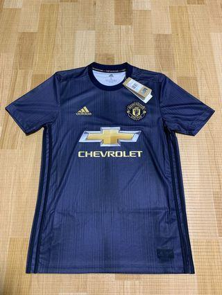 cb413eea8d6 Authentic Manchester United 3rd Kit Jersey Size S