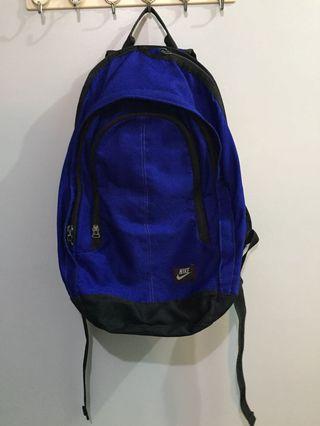 Original Nike blue backpack