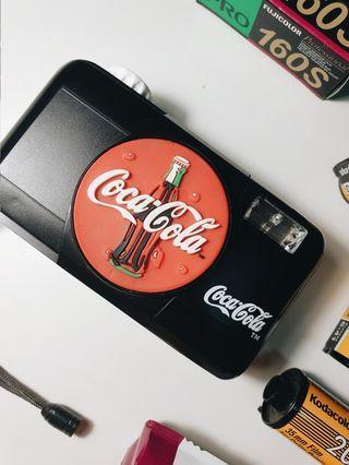 Ansco Coca-Cola 35mm Reuseable Instant Camera (1999)