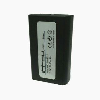 EN-EL1 Replacement Li-Ion Battery For Nikon Coolpix 4300 / 4500 / 4800 / 5400 / 5700 / 8700 / 880 / 885 / 99 / E880 Konica Minolta DG-5W Dimage A200 Camera As NP-800